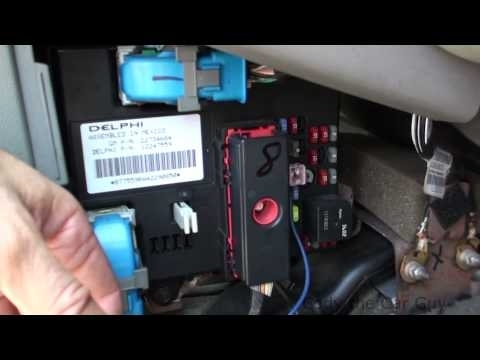 05 Chevy Malibu Fuse Box Locations - Youtube intended for 2000 Chevy Malibu Fuse Box