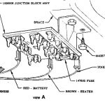 1955, 1956 And 1957 Chevrolet Glass Fuses regarding 1957 Chevy Bel Air Fuse Box
