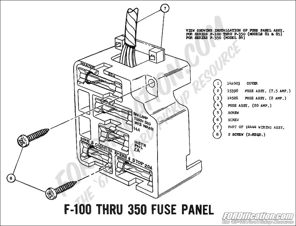 1978 ford bronco fuse box
