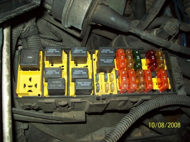 1996 Jeep Cherokee Fuse Box Diagram - Vehiclepad | 1996 Jeep Grand intended for 1997 Grand Cherokee Fuse Box Diagram