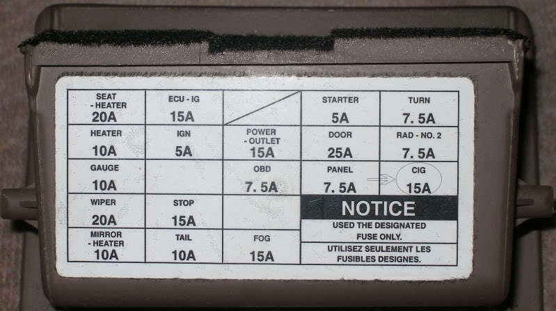1996 Toyota Camry Fuse Box Diagram - Vehiclepad | 1992 Toyota pertaining to 1991 Toyota Camry Fuse Box