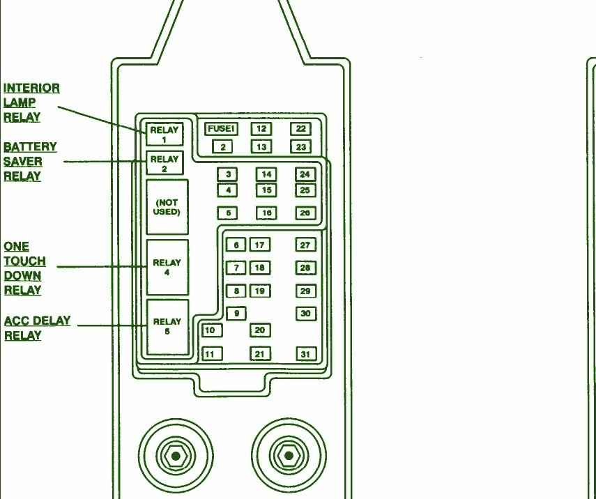 1997 Ford F150 Fuse Box Diagram - Vehiclepad | 1997 Ford F150 Fuse regarding 1997 Ford F150 Fuse Box Diagram