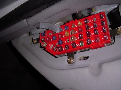 2000 Ford Explorer Fuse Box - Vehiclepad | 2000 Ford Explorer Fuse regarding 2000 Ford Explorer Fuse Box