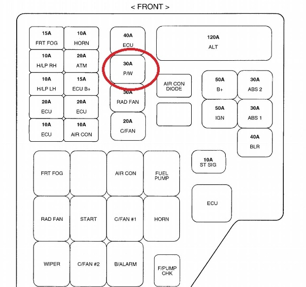 2001 Hyundai Santa Fe Fuse Box Diagram - Vehiclepad | 2008 Hyundai with 2005 Hyundai Santa Fe Fuse Box Diagram