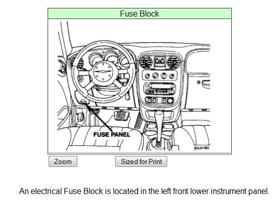2001 Pt Cruiser, Automatic Door Locks, Not Working, Please with 2007 Pt Cruiser Fuse Box