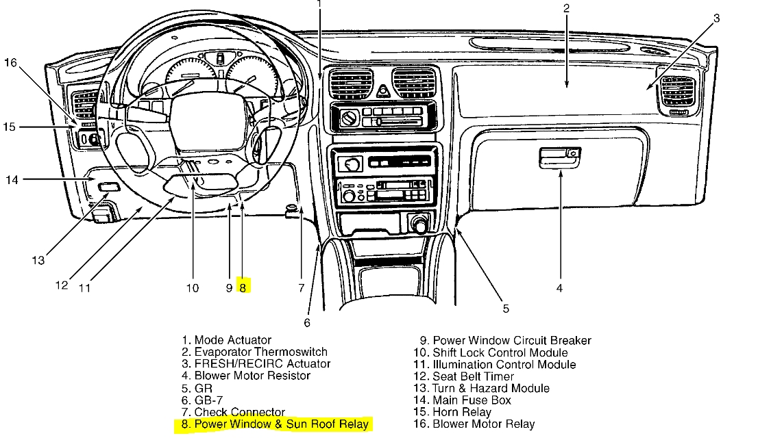 Subaru legacy fuse box diagram vehiclepad