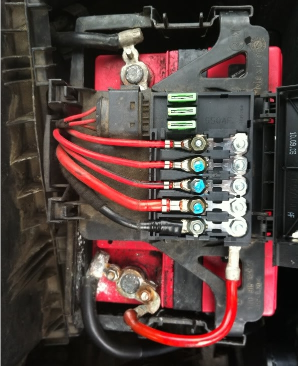2003 Vw Beetle Fuse Box