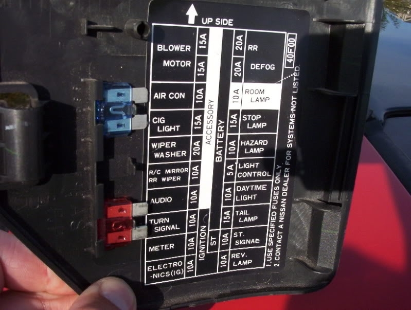 Nissan Z Fuse Box Diagram Vehiclepad Nissan In Nissan Maxima Fuse Box