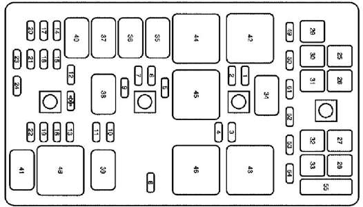 2006 Buick Lacrosse Fuse Panel Diagram - Questions (With Pictures inside 2006 Buick Lacrosse Fuse Box