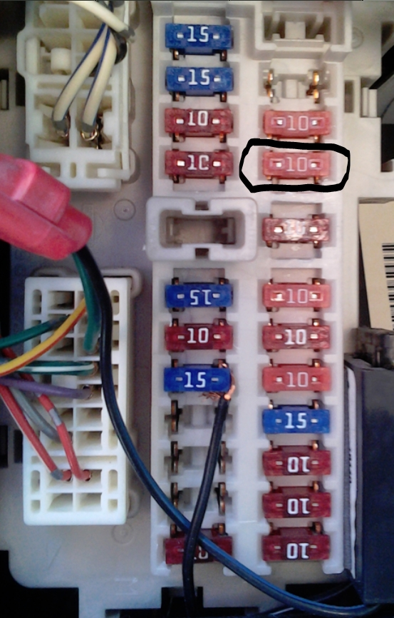 2006 Nissan Altima: Brake Lights..my Fuse Boxes..fuse Diagram intended for 2006 Nissan Altima Fuse Box