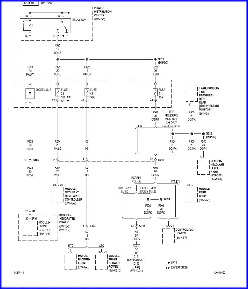 2005    Chrysler       300    Fuse Box   Fuse Box And Wiring    Diagram