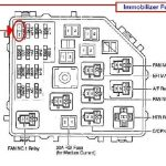 2008 Toyota Rav4 Ac Relay Location - Vehiclepad | 2008 Nissan intended for 2007 Toyota Corolla Fuse Box Diagram