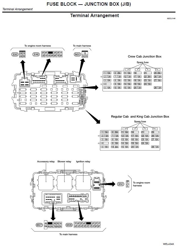 Similiar 2006 Nissan Frontier Fuse Box Diagram Keywords with ...