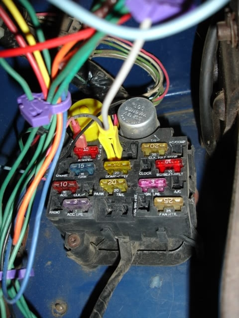 1978 Jeep Cj7 Fuse Box Diagram