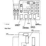 99-00 Civic Ex (Underhood) Fuse Box Panel - Honda-Tech in 2000 Civic Si Fuse Box Diagram