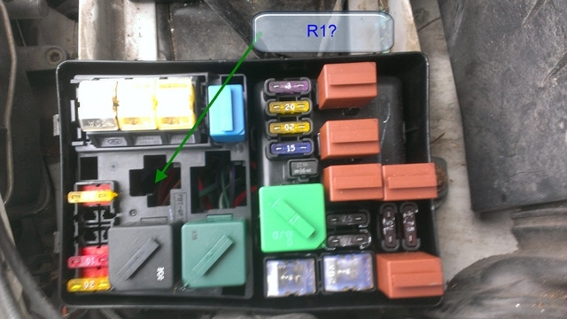 99 Mercury Cougar Fuse Box
