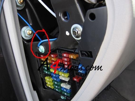 A4Mods :: - The Premiere Audi A4 Modification Guide And for Audi A4 Fuse Box