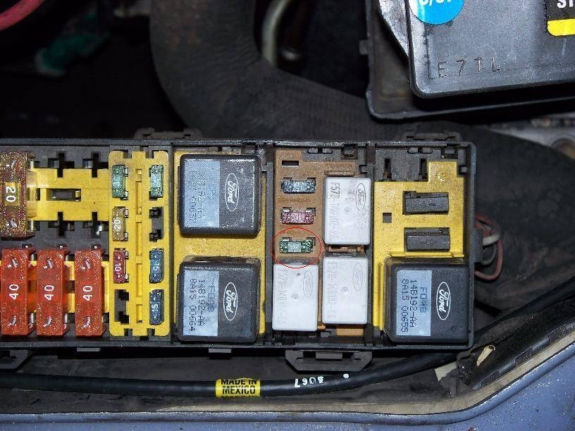 Fuse Box Car Charger : Ford taurus fuse box and wiring diagram