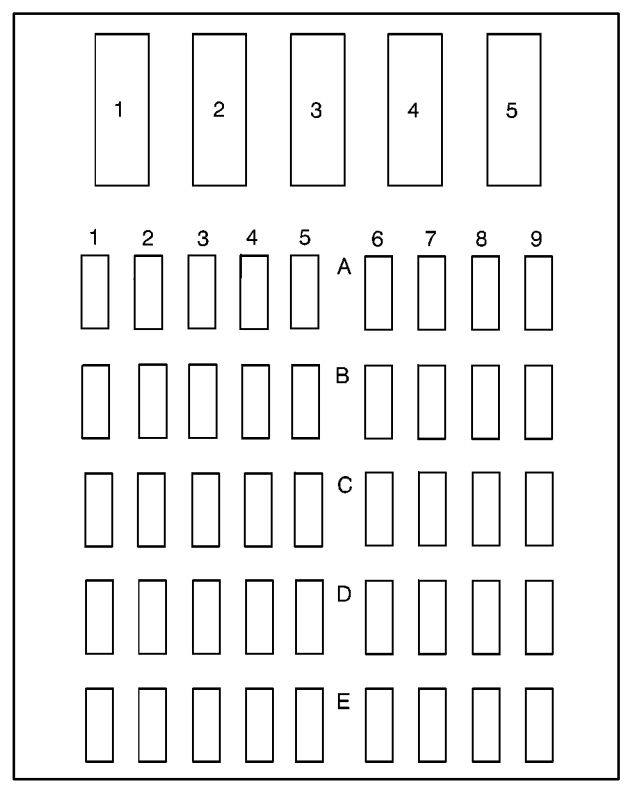 1995 buick park avenue fuse box diagram
