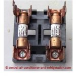 Central Air Conditioner Fuse inside Central Air Conditioner Fuse Box