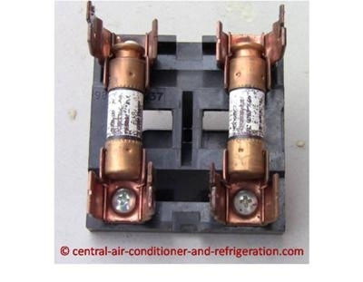 Central Air Conditioner Fuse throughout Ac Fuse Box