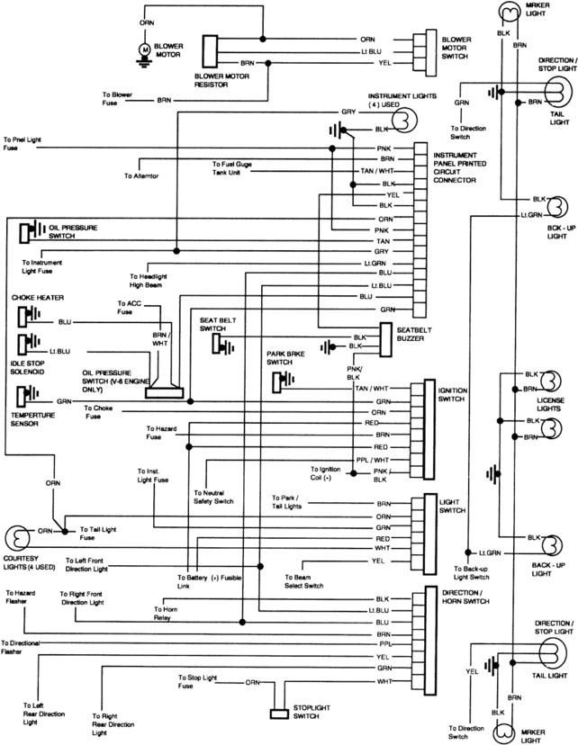 1971 Chevy C10 Wiring Diagram Moreover 1953 Chevy Wiring Diagram
