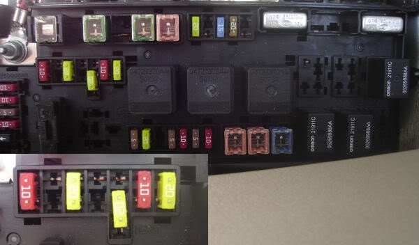 2005 Dodge Magnum Sxt Fuse Box Diagram