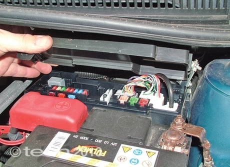 Citroen C1 Petrol 1.0 - Fusebox Locations with Citroen C4 Fuse Box Location