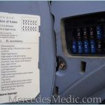 E Class (1996-2002) W210 Fuse Box Chart Location Designation for 1995 Mercedes Benz Fuse Box Diagram