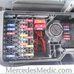 E Class (1996-2002) W210 Fuse Box Chart Location Designation with regard to 1995 Mercedes Benz Fuse Box Diagram