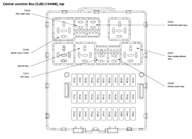 Engine Bay Fuse Box Info - 2003/2004 2.3L Pzev with regard to 2004 Focus Fuse Box Diagram