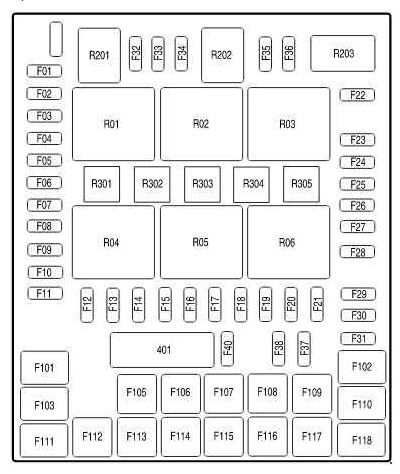 Ford F-150 11Th Generation (2004 To 2008) Fuse Box Diagrams with regard to Fuse Box 2008 Ford F150