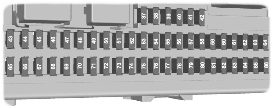 Ford Focus Mk2 (1999 – 2007) – Fuse Box Diagram (Eu Version pertaining to 2006 Ford Focus Fuse Box Diagram