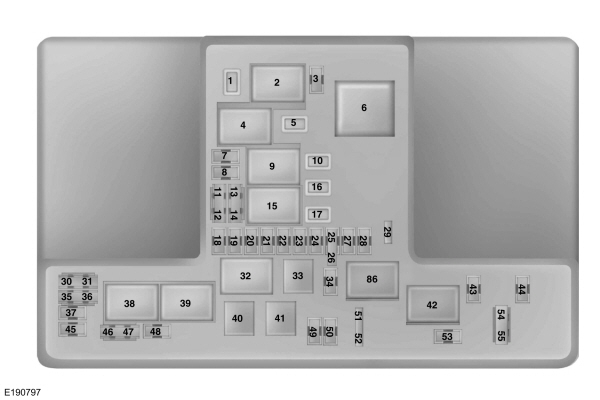 Ford Fusion Mk2 (From 2015) – Fuse Box Diagram (Usa Version throughout 2013 Ford Fusion Fuse Box Diagram