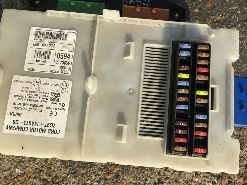 Ford Galaxy Mk3 S-Max 2006-2010 Body Control Sam Unit Fuse Box 2.0 with Ford Galaxy Fuse Box
