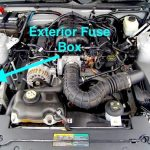 Ford Mustang V6 And Ford Mustang Gt 2005-2014 Fuse Box Diagram with 2005 Ford Mustang Fuse Box Location