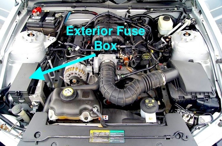 2005 mustang gt engine wiring diagram