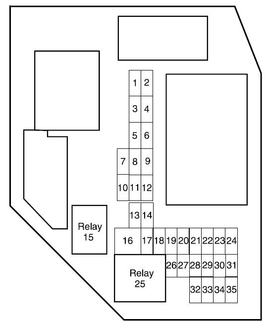 Fuse Box Diagram For A 2004 Ford Ranger : Ford ranger fuse box diagram and wiring