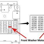 Front Windshield Sprayers Not Working..ahh!!! - Nissan Forum in Nissan Primera Fuse Box Diagram