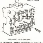 Fuse Block 1976 - Ford Truck Enthusiasts Forums inside 1978 Ford F 150 Fuse Box Diagram