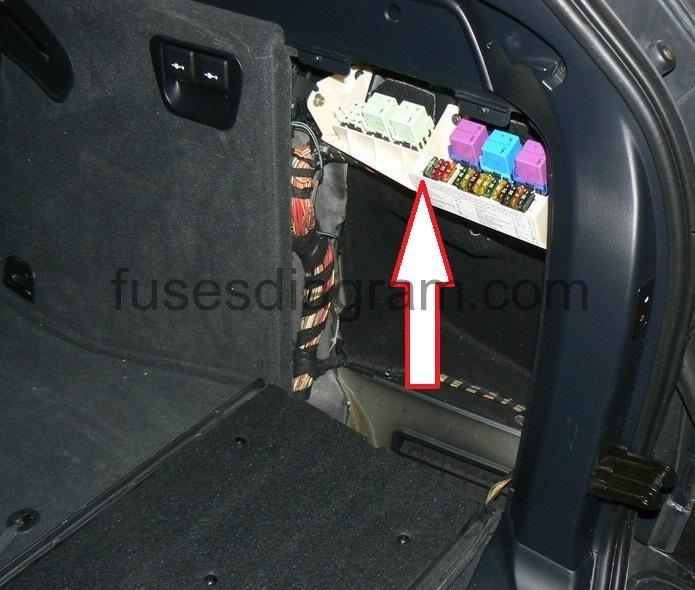 Fuse Box Bmw X5 E53 pertaining to Bmw X5 Fuse Box