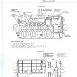 Fuse Box Diagram For 92 Honda Civic - Automotive Wiring And Electrical in Honda Civic Fuse Box