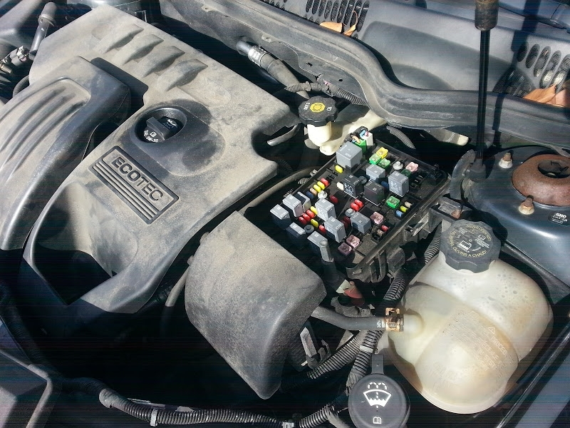 Fuse Box Location, Designation List For Chevrolet Cobalt, Pontiac pertaining to Chevy Cobalt Fuse Box