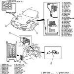 Fuse Diagrams And Specs For 1994 Ford Probe Gt V6 | How Did I Get regarding Ford Probe Fuse Box Diagram