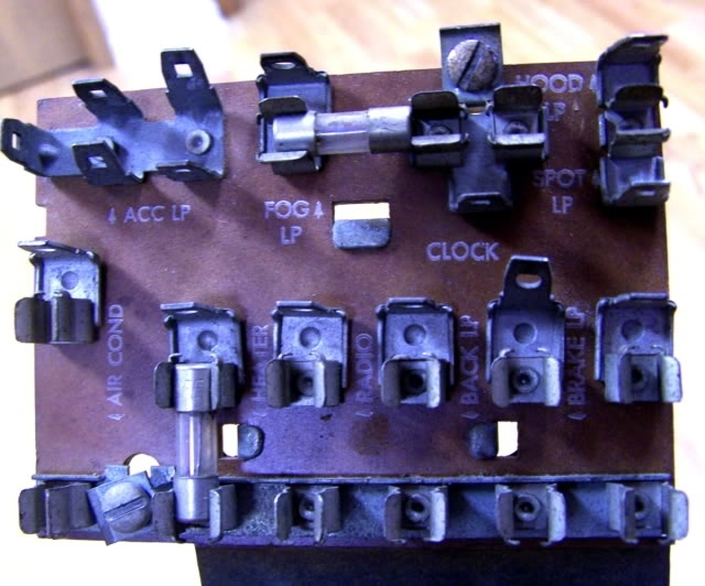 Fuse Panel Diaghram - Trifive, 1955 Chevy 1956 Chevy 1957 within 1957 Chevy Bel Air Fuse Box Location