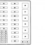 Fuse Panel Diagram - Ford Truck Enthusiasts Forums in 2000 Ford F 250 Fuse Box Diagram