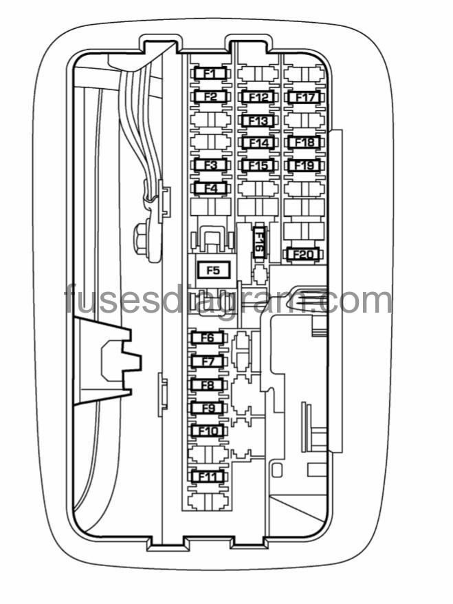 Fuses And Relays Box Diagram Dodge Durango 2 with 2004 Dodge Durango Fuse Box Diagram