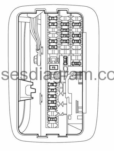 Fuses And Relays Box Diagram Dodge Durango 2 with regard to 2005 Dodge Durango Fuse Box