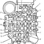 Fuses & Circuit Breakers :: Dome Light :: 1984 - 1991 :: Jeep with 1988 Jeep Cherokee Fuse Box Diagram