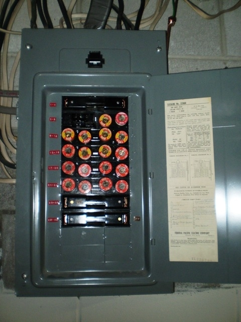 Ge Fuse Box. Ge. Free Wiring Diagrams throughout Fuse Box Electrical Panel